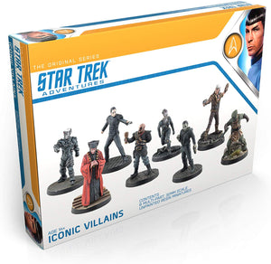 Star Trek Adventures Iconic Villains 32mm Minis Box Set