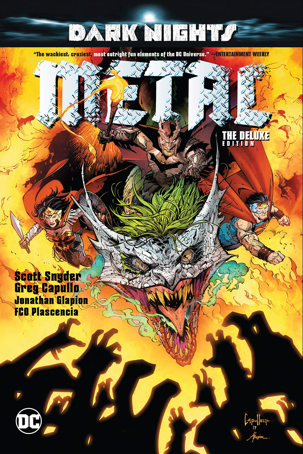 Dark Nights:Metal The Deluxe Edition graphic novel