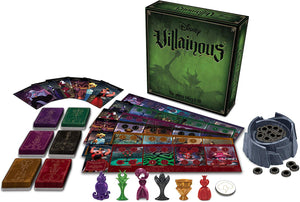 Disney Villainous Strategy Board Game for Age 10 and Up