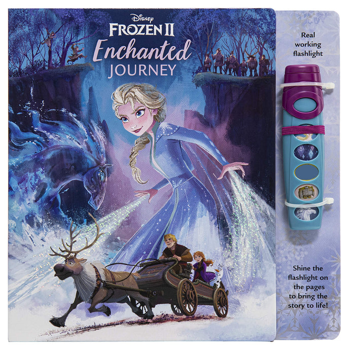 Disney Frozen 2 - Sound Book and Interactive Flashlight Set