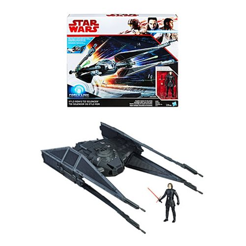 Star Wars: The Last Jedi Kylo Ren's TIE Silencer Vehicle with Kylo Ren Action Figure