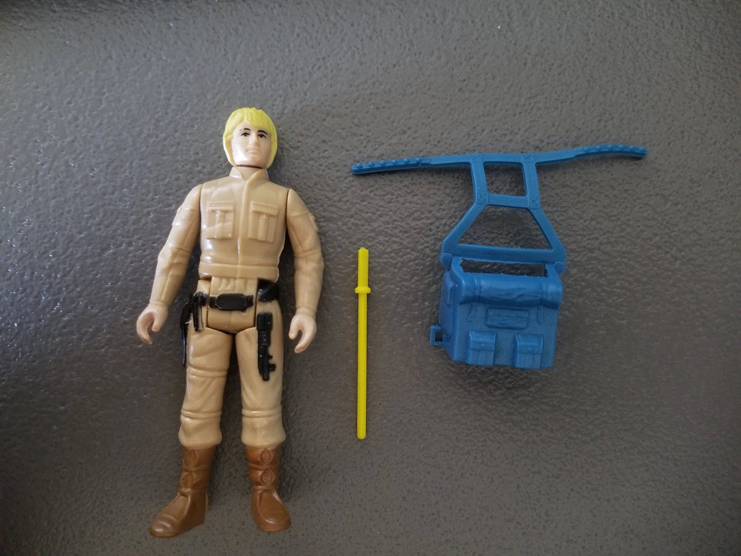 Vintage Star Wars Luke Skywalker Bespin Fatigues 1980 Kenner Empire Strikes Back