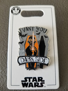 Disney Pins: Darth Vader Halloween 2019