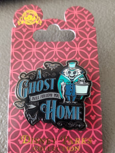 Disney Pins: A Ghost Will Follow You Home
