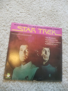 STAR TREK 1979 Peter Pan Records TIME STEALER, MIRROR OF FUTILITY