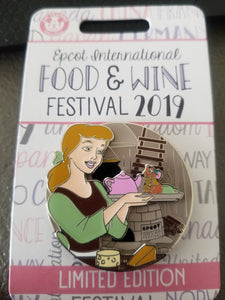 Epcot Food and Wine 2019 LE Cinderella