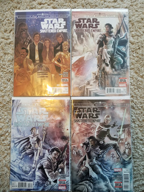 Star Wars: Shattered Empire #1-4