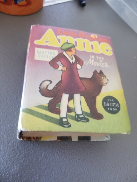 Little Orphan Annie in the Movies The Big Little Book No. 1416 Harold Gray 1937