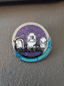 Disney Pin: Haunted Mansion Mystery Tombstones