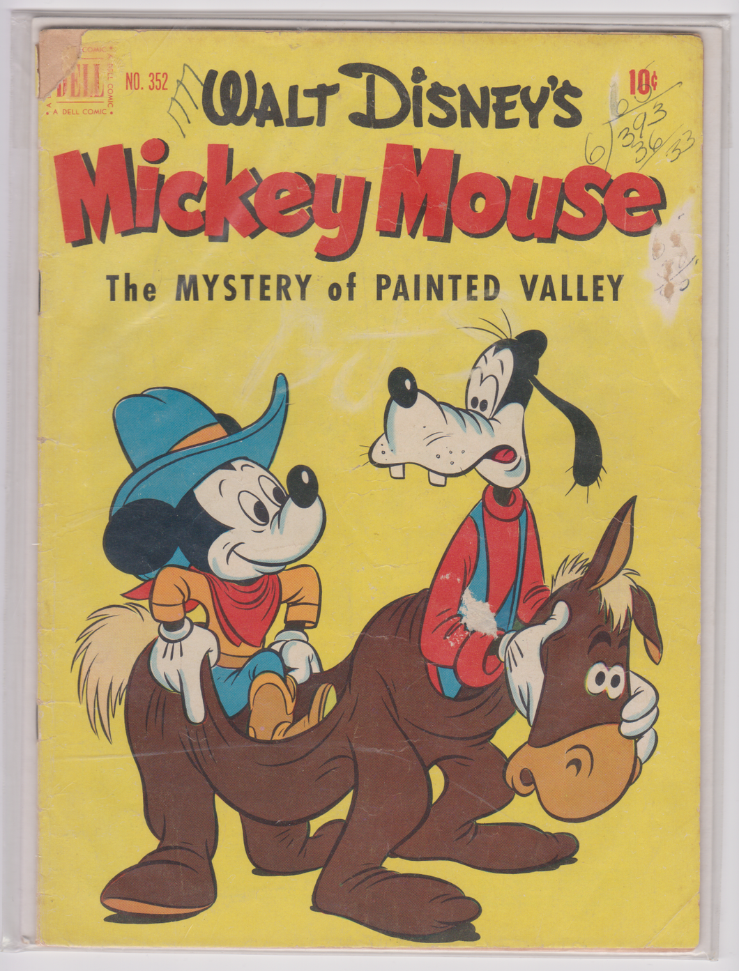 Walt Disney's Mickey Mouse #352 - The Mystery of Painted Valley