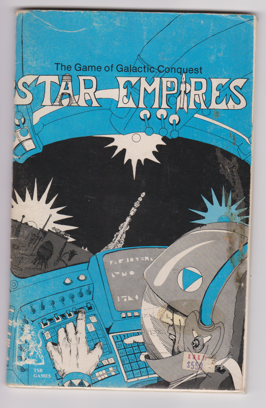 TSR Star Empires Game of Galactic Conquest - 1977
