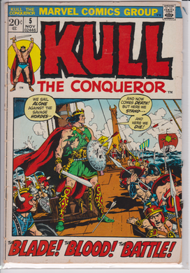 Kull the Conquerer #5
