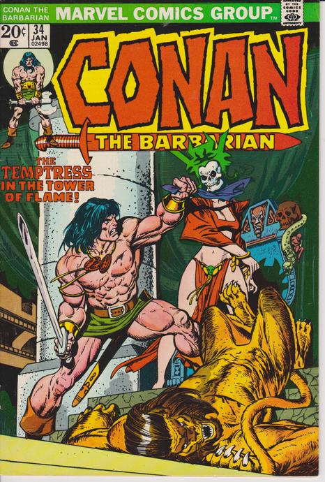 Conan the Barbarian #34