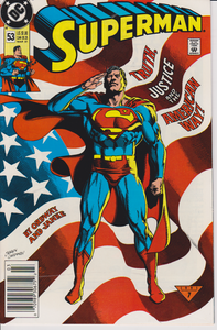 1991 Superman Comic #53