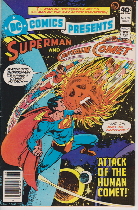 DC Comics Presents #22 (1980) Plight of the Human Comet