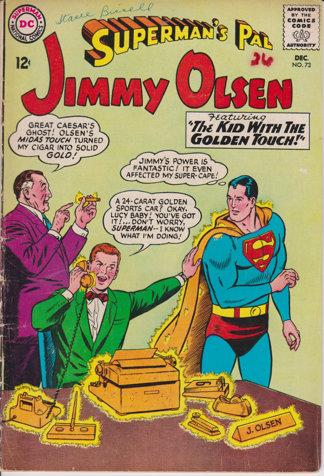 Superman's Pal Jimmy Olsen #73