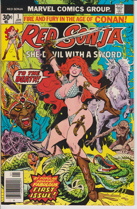 RED SONJA #1 VF-NM (1977)