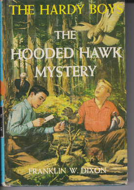 HARDY BOYS #34: THE HOODED HAWK MYSTERY by Franklin W. Dixon 1954
