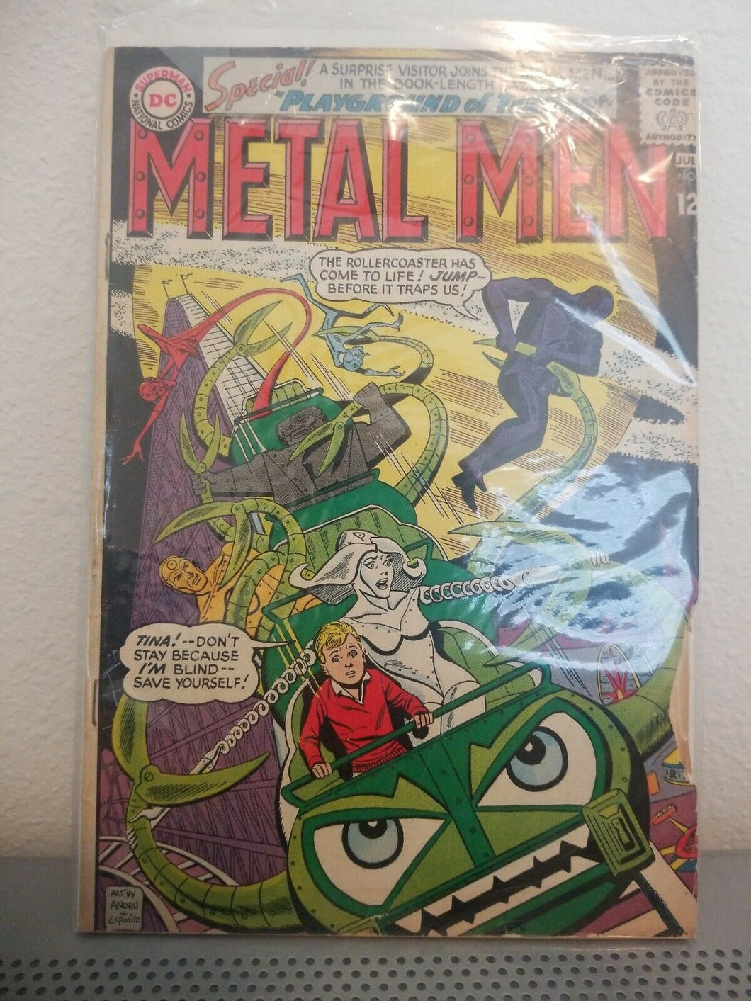 Metal Men #8 (1964, DC)