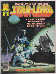 MARVEL PREVIEW 14 STARLORD STAR LORD 1977