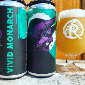 Vivid Monarch IPA (4 Pack Cans)