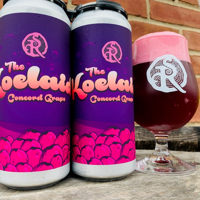 The Koelaid - Concord Grape (4 Pack Cans)