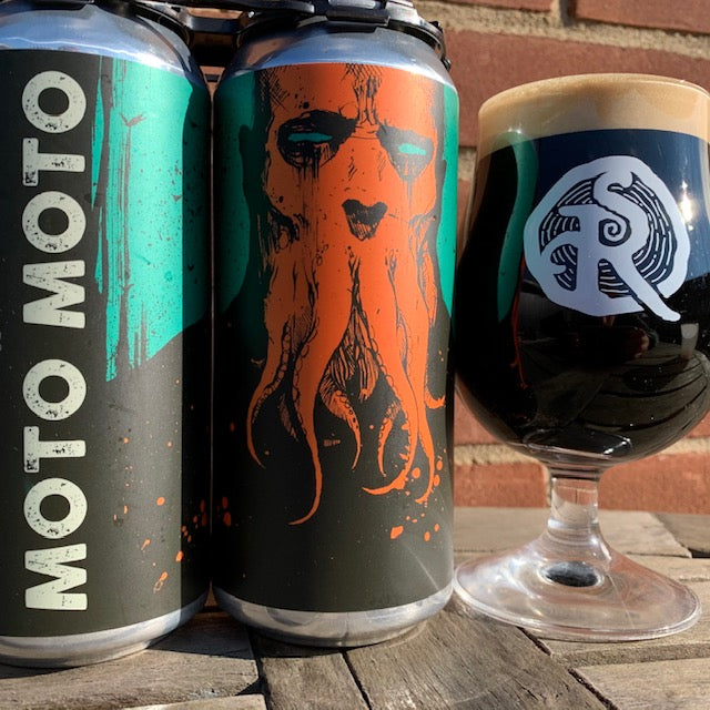 Moto Moto Imperial Candy Bar Stout (2 Pack Cans)