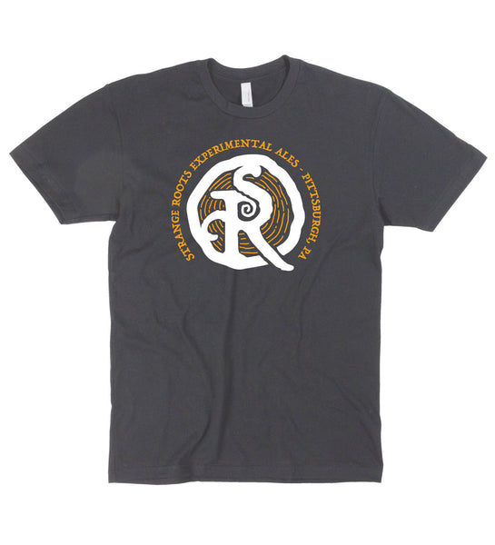 Strange Roots Black and Gold T-Shirt