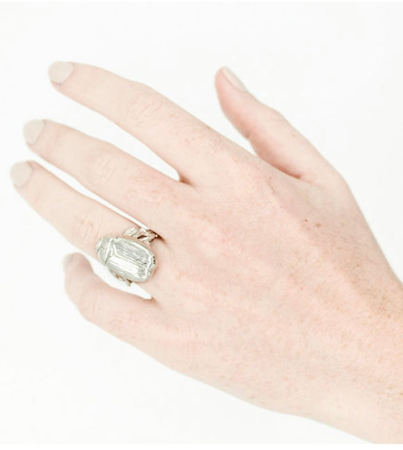 Big Beetle Statement Ring