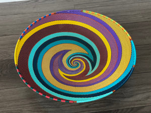 Rainbow Large Telephone Wire Bowls