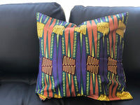 Wax Print Scatter Pillows Sets