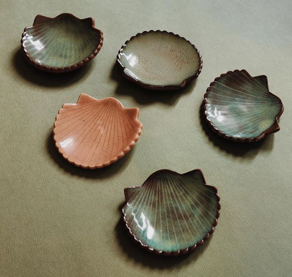 Sea Shell Trinket Bowls
