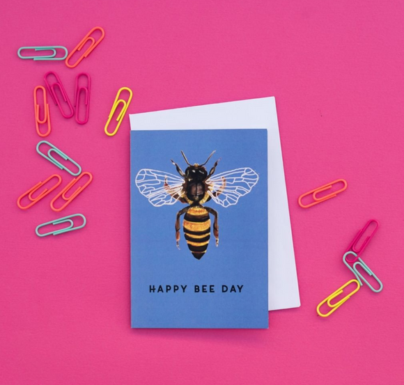 Happy BEE Day Cards