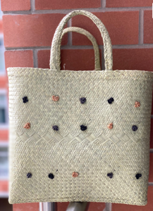 Raffia Knotted Shopper