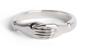 Holding Hands Ring