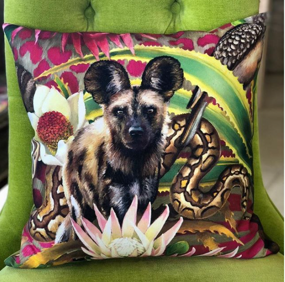 Jungle Wildlife Pillows