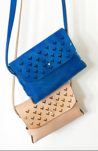 Triangle Showers Sling- Blue