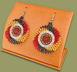 Zulu Circular Earrings