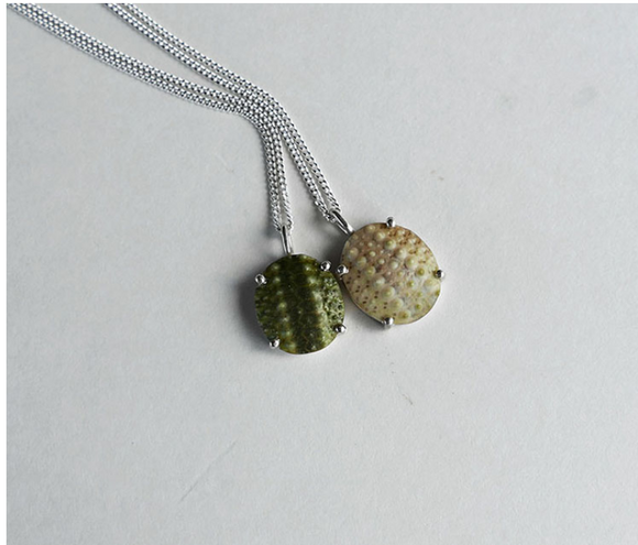 Oval Sea Urchin Necklaces