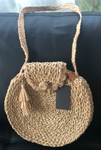 Rafia Large Round Handbags