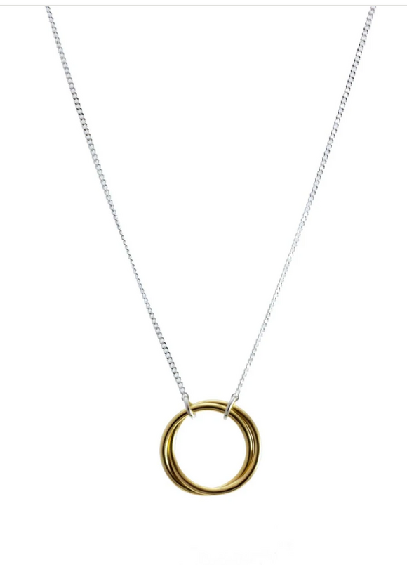 Anya Brass Necklace