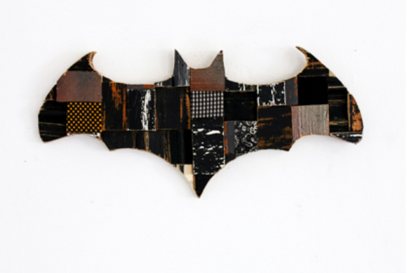 Bat Wood Wall Art