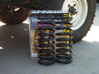 DISCOVERY 2 REAR +40mm SPRING 200KG