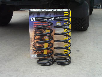 DISCOVERY 2 FRONT +40mm SPRING 21-50KG