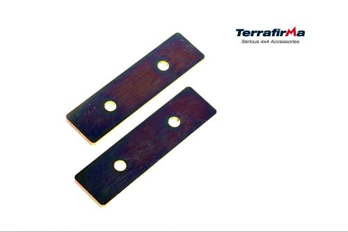 REAR RETAINING PLATES 90/D1/RRC