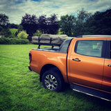 Ford Ranger Wildtrak (2014-2018) Roll Top Load Bed Rack