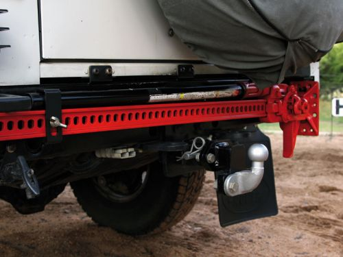 DEFENDER Hi-LIFT REAR BUMPER MOUNT