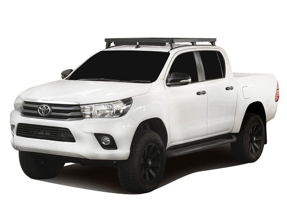 Toyota Hilux Revo DC (2016-Current) Track & Feet Slimline II Roof Rack Kit