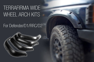 D2 WIDE WHEEL ARCH KIT