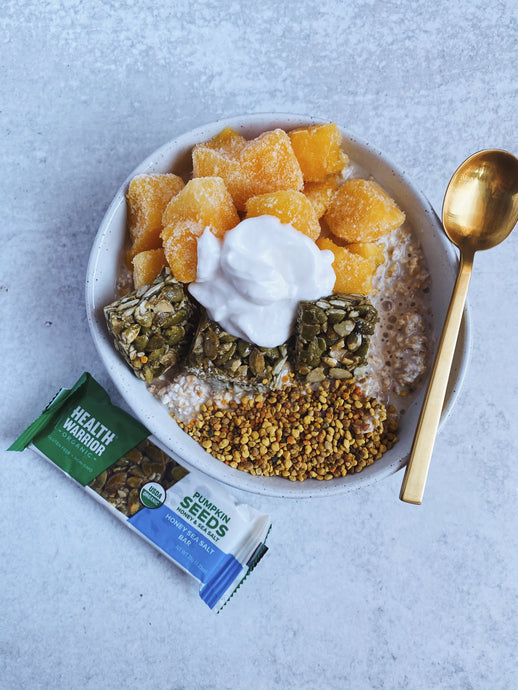 Pumpkin Seed Breakfast Bowl